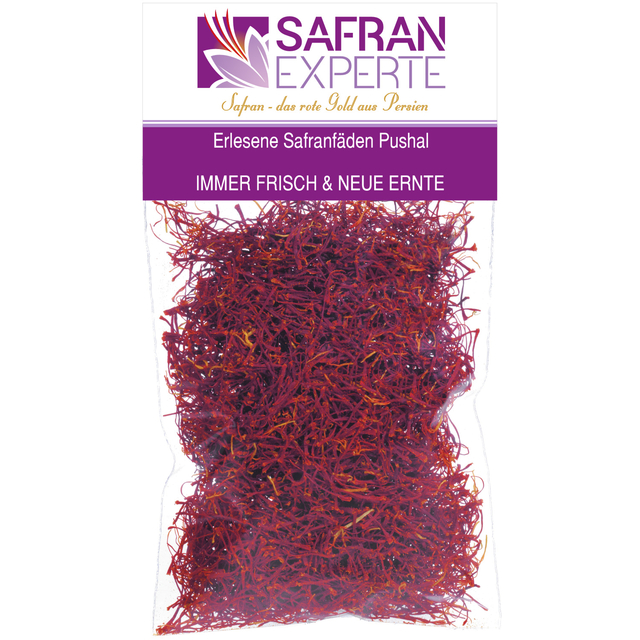 Saffron threads Pushal 9.20 gram in bag