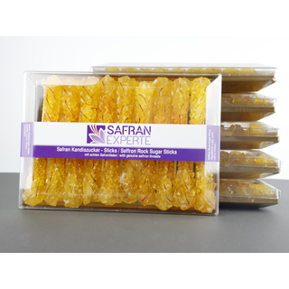 Saffron Rock Sugar Sticks 6 boxes x 19 Sticks