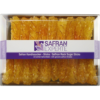 Saffron Rock Sugar Stick -  2 boxes x 19 sticks
