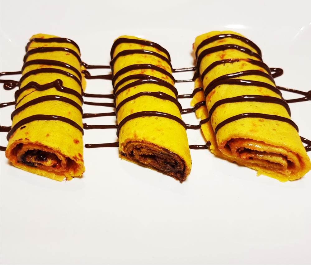 Saffron Pancakes without egg